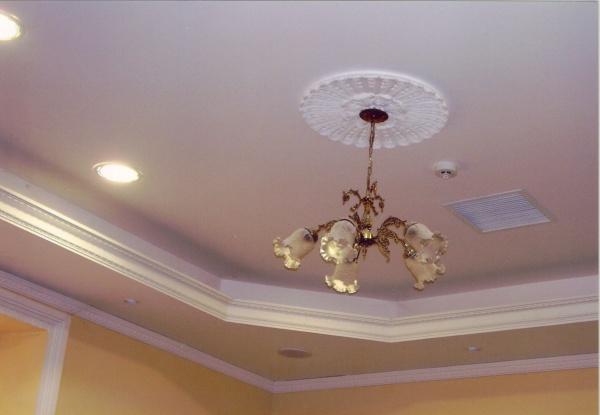 Productos cielo raso liso con bandeja espara for Ideas para decorar techos interior